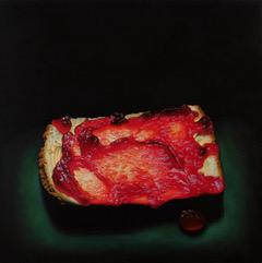 BIG JAM PIECE 2 Oil on Canvas 5x5ft James McDonald 2015