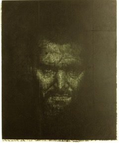 f JONATHAN MCDONALD-MARE VAPORUM Etching with Chine Colle 17x 14inches