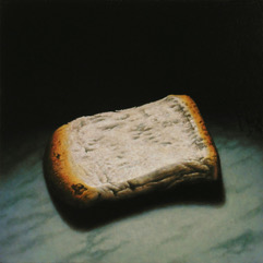 PLAIN BREAD 14X14inches Oil on Panel James McDonald 2017